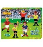 LE FOOTBALL - BOITE HAMA MIDI 4000 PERLES - LOISIRS CREATIFS - 3139