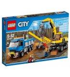 LEGO CITY 60075 L'EXCAVATRICE ET LE CAMION