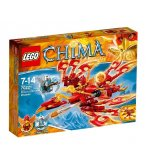 LEGO LEGENDS OF CHIMA 70221 L'ULTIME PHOENIX DE FEU
