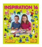 LIVRE INSPIRATION 16 HAMA MIDI - JEU CREATIF PERLES A REPASSER