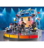 PLAYMOBIL CITY LIFE 5602 CONCERT DE ROCK AVEC SCENE
