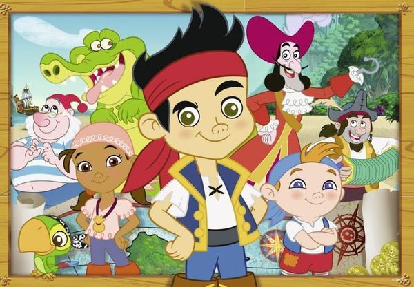 Puzzle 088881 jack le pirate 2 x 24 pi ces enfant gar on - Jack et le pirate ...