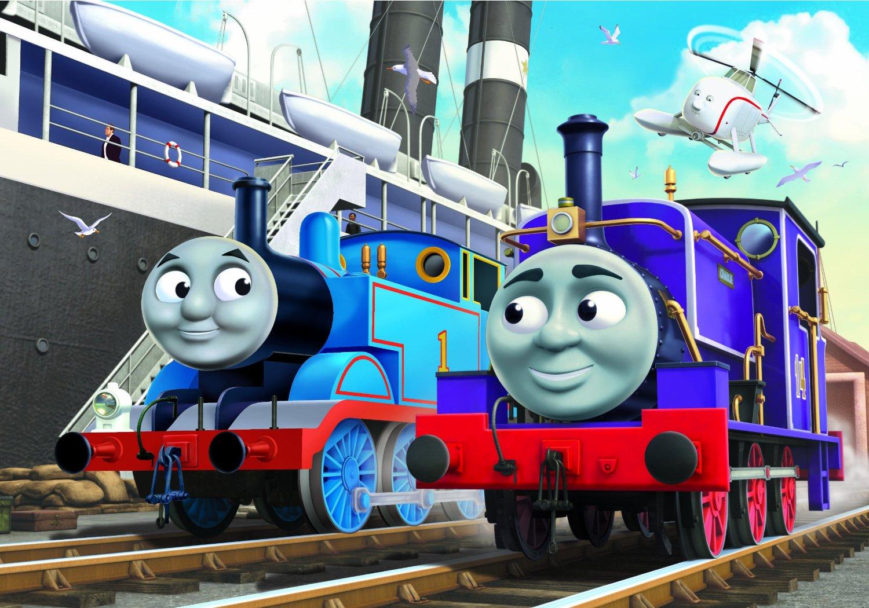 Ravensburger 07237 puzzle thomas le train 12 et 24 pi ces - Train thomas et ses amis ...