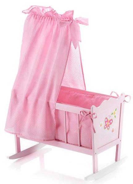 lit fl che bascule chic 2000 jouet lit pour poup e moins. Black Bedroom Furniture Sets. Home Design Ideas