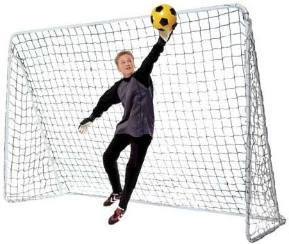 cage de foot m tal but de football pas cher cage de. Black Bedroom Furniture Sets. Home Design Ideas
