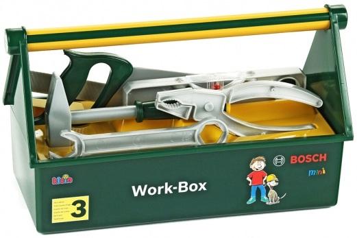 mini bosch klein 8460 caisse outils bricolage boite outils. Black Bedroom Furniture Sets. Home Design Ideas