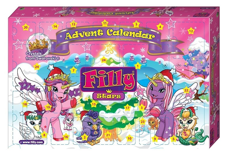 filly le calendrier de l avent stars jouets filly no l. Black Bedroom Furniture Sets. Home Design Ideas