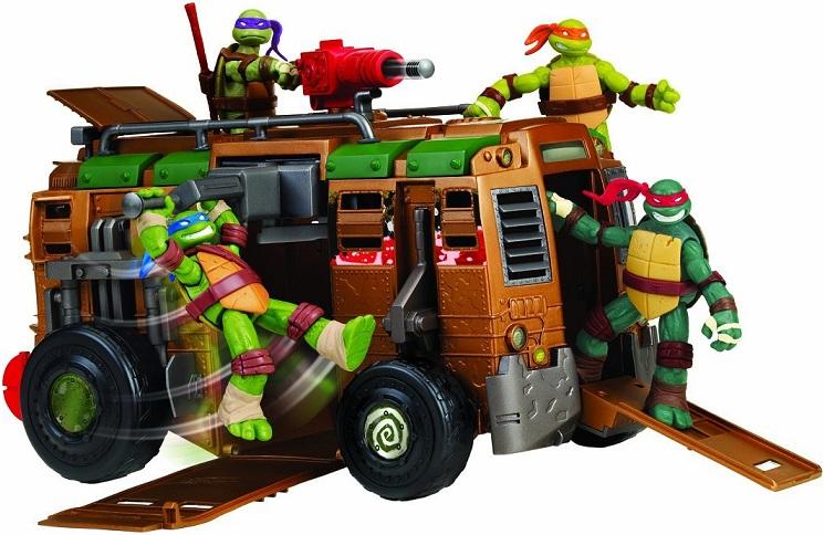 jouet tortue ninja le camion ce combat giochi van v hicule. Black Bedroom Furniture Sets. Home Design Ideas