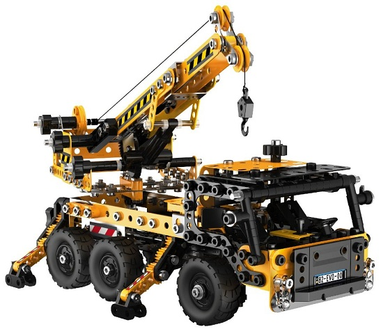 meccano evolution jeu construction camion grue v hicule 868200. Black Bedroom Furniture Sets. Home Design Ideas