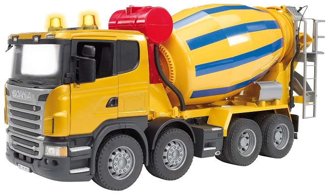 Bruder camion toupie Scania DreamLand