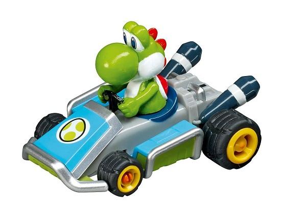 Voiture pour circuit carrera go yoshi 1 43 me caverne des jouets - Voiture mario kart 7 ...