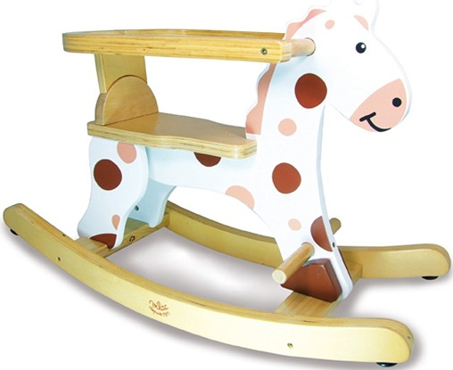 animal bascule avec arceau mon premier cheval bascule en bois bascule b b en bois. Black Bedroom Furniture Sets. Home Design Ideas