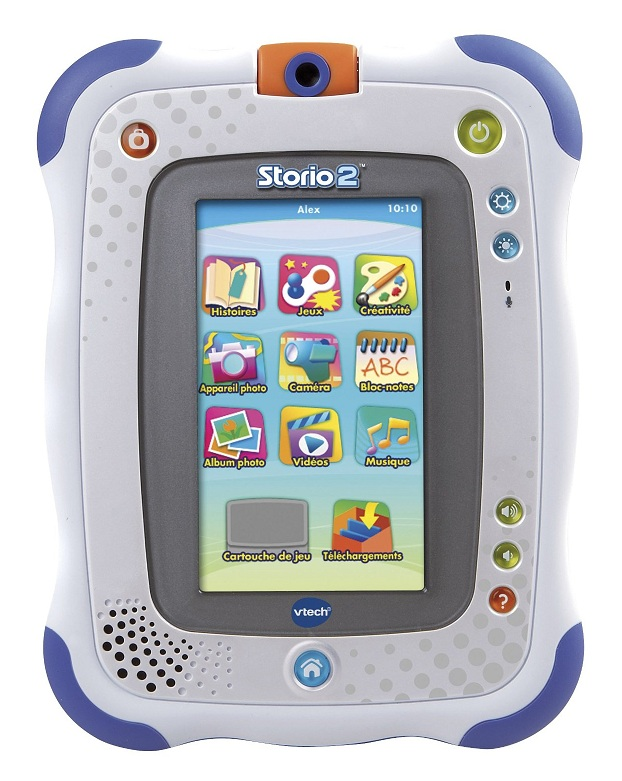 tablette storio 2 bleue appareil photo int gr console vtech. Black Bedroom Furniture Sets. Home Design Ideas
