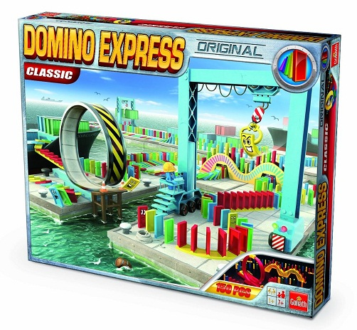 domino express classic jeu d action goliath domino domino express avec looping infernal. Black Bedroom Furniture Sets. Home Design Ideas