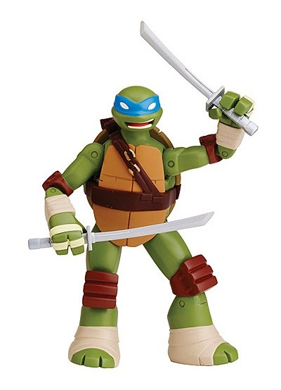 Leonardo tortues ninja battle shell figurine 12 cm - Tortues ninja leonardo ...