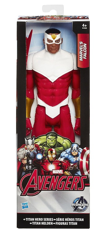 hasbro avengers b1668 figurine 30cm marvel 39 s falcon heros titan. Black Bedroom Furniture Sets. Home Design Ideas