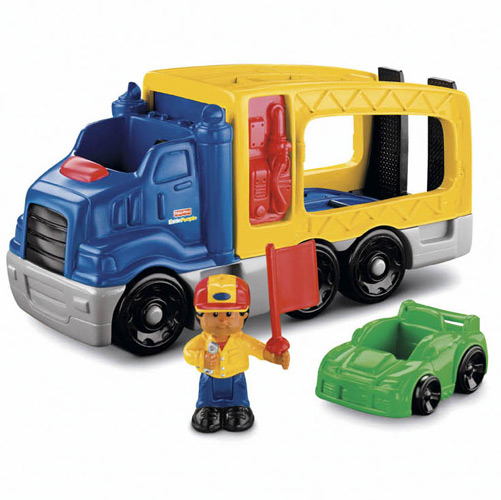 fisher price camion de course little people. Black Bedroom Furniture Sets. Home Design Ideas