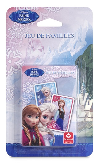 Jeu de cartes 7 familles reine des neiges cartamundi - Jeu reine des neige gratuit ...