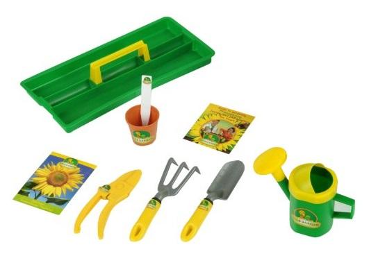 Mallette de jardinier semences jouet jardinage klein for Jardinier professionnel