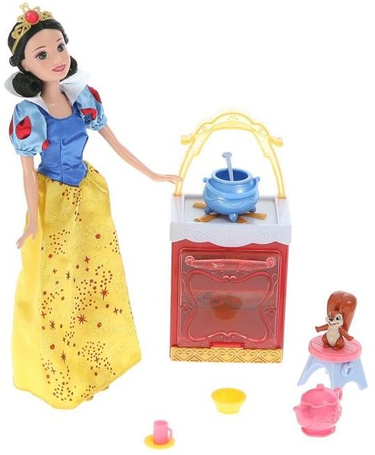 Mattel cuisine de blanche neige poup e princesse accessoires - La princesse blanche neige ...