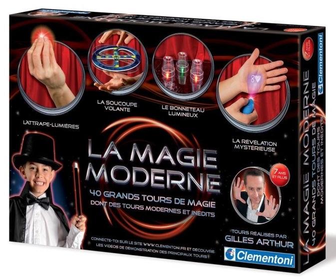 La magie moderne 40 tours jeu de magie clementoni 7 ans - Tour de magie table volante ...