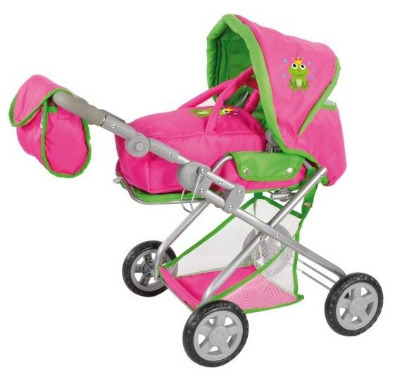 knorrtoys jouet landau combi poussette pliable rose kyra. Black Bedroom Furniture Sets. Home Design Ideas
