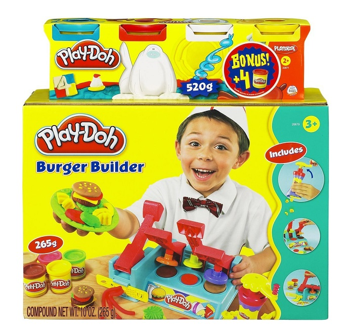 Achat/Vente Pâte à modeler Play-Doh Maxi Burger + bonus