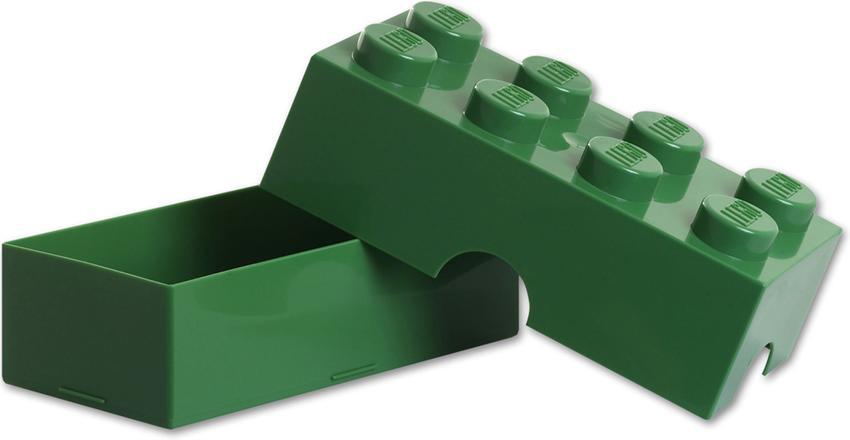 bo te go ter lego verte brique de rangement lego lunch box lego verte. Black Bedroom Furniture Sets. Home Design Ideas
