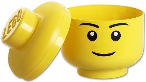 Bote de rangement lego briques de rangement lego accessoire lego - Tete de rangement lego ...