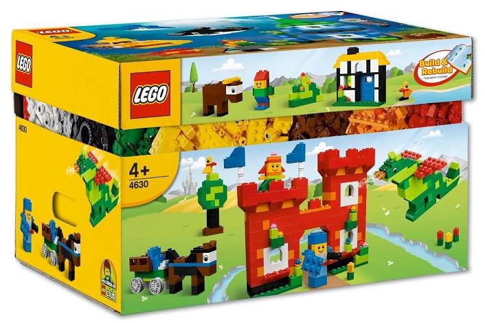 Lego 4630 Bricks & More Boîte de 1000 briques Jouer et