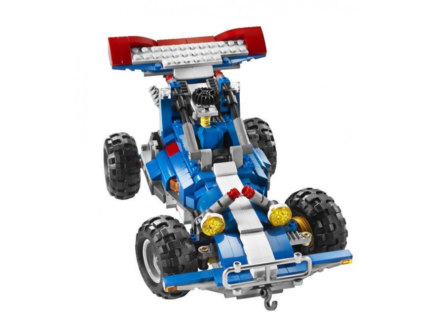 Lego creator 5893 le tout terrain et son quad for Pelleteuse jouet exterieur