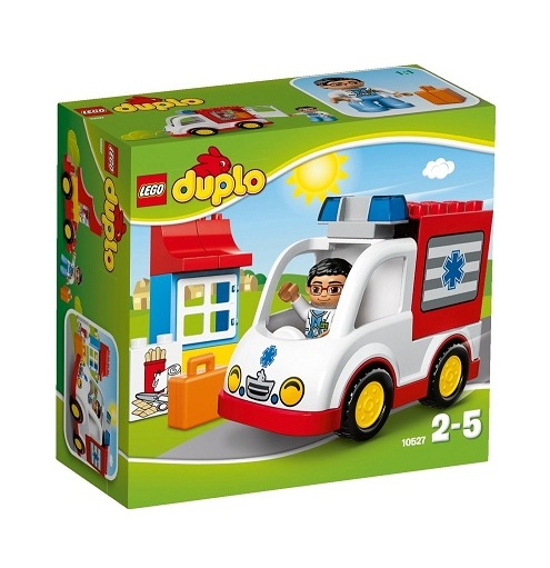 lego 10527 duplo l ambulance lego ville. Black Bedroom Furniture Sets. Home Design Ideas