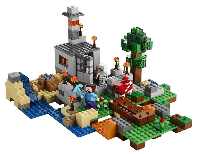 Lego minecraft la boite de construction 21116 d s 8 ans - Lego modeles de construction ...