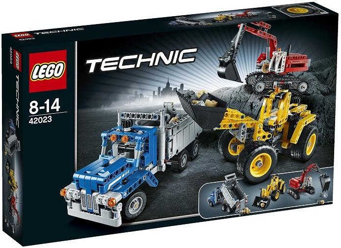 Achetez lego technic 42023 l equipe de construction moins cher - Jeux de construction lego technic ...