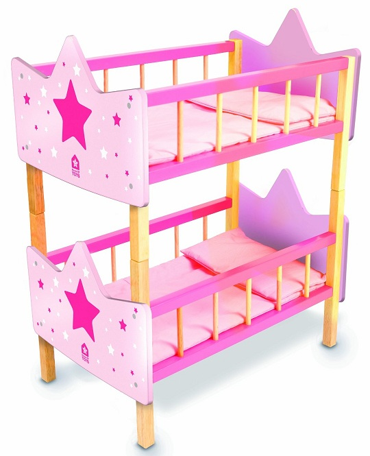 acheter lits superpos s en bois poup es lits doubles house of toys. Black Bedroom Furniture Sets. Home Design Ideas