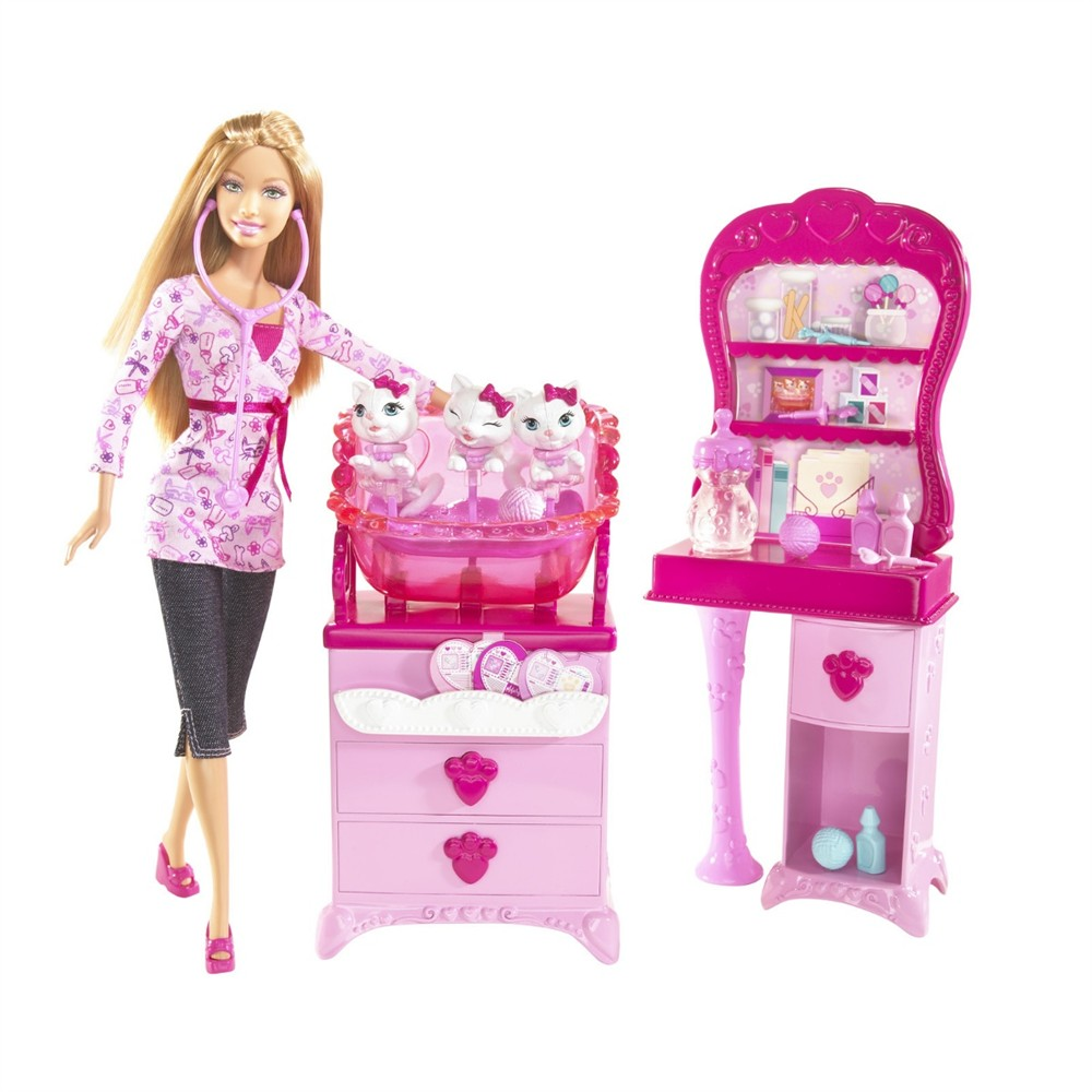 barbie veterinaire. Black Bedroom Furniture Sets. Home Design Ideas