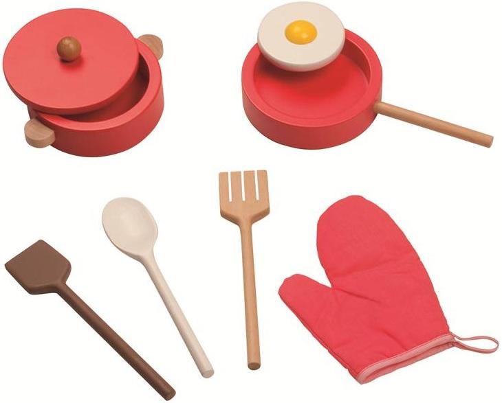 jeu imitation c t cuisine enfant maxi cuisine chic en bois janod 06520. Black Bedroom Furniture Sets. Home Design Ideas