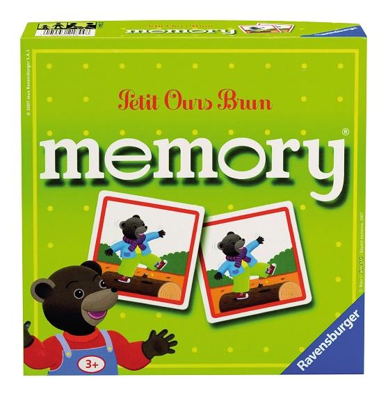 grand memory petit ours brun jeu 1er ge ravensburger. Black Bedroom Furniture Sets. Home Design Ideas