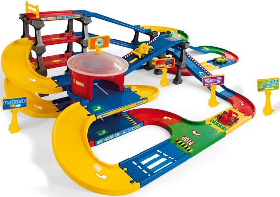 wader kid cars 3d piste petites voitures multi parking garon. Black Bedroom Furniture Sets. Home Design Ideas