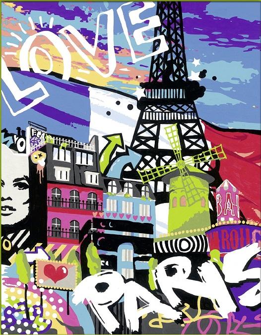 Coffret num ro dart love from paris au meilleur prix - Numero encombrant paris ...