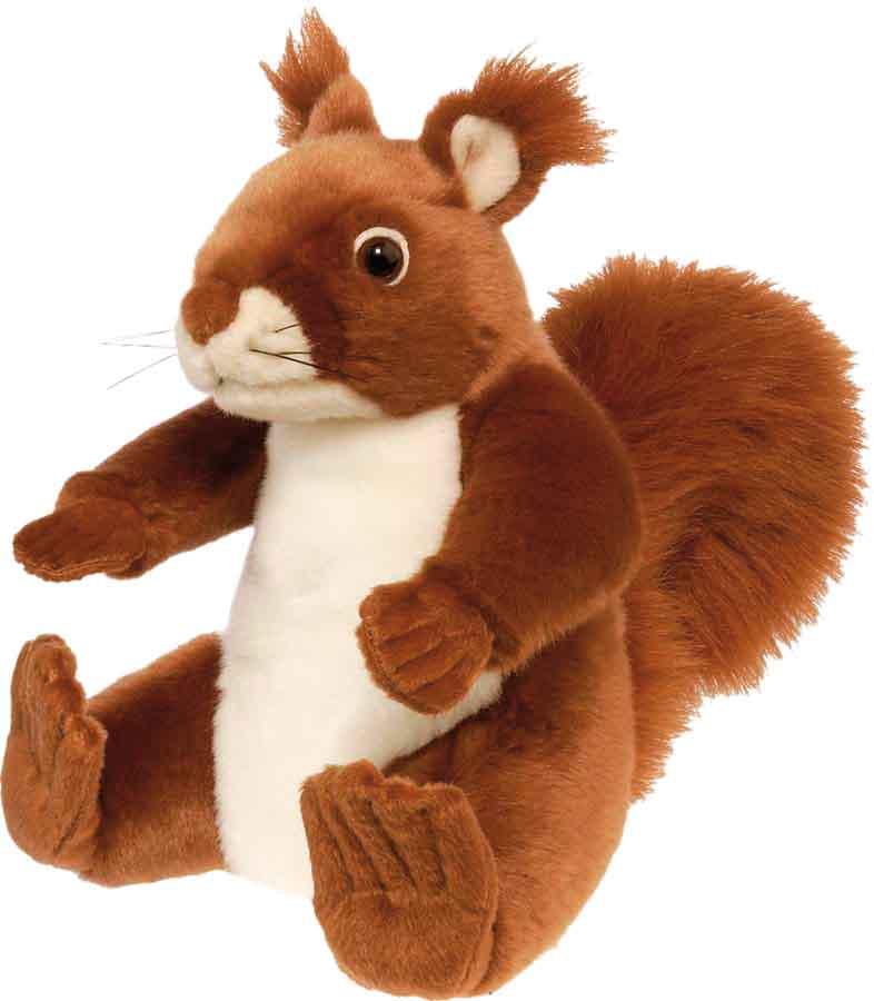 peluche animal cureuil ecureuil roux en peluche jouet. Black Bedroom Furniture Sets. Home Design Ideas