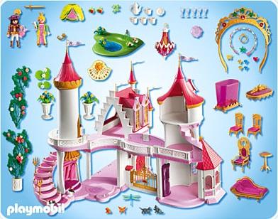 playmobil jouet fille palais de princesse 5142 chteau jeu