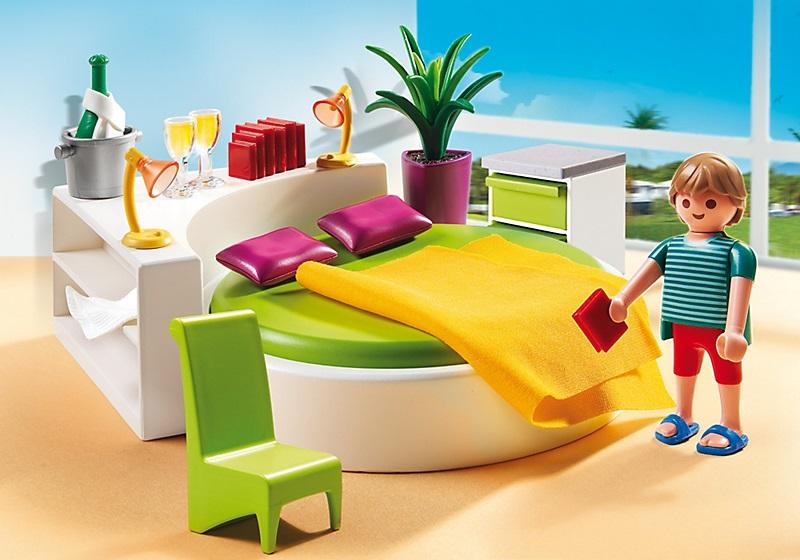Jouet playmobil 5583 chambre des parents avec lit rond - Chambre lit rond ...