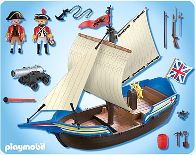 playmobil 5140 navire des soldats britanniques playmobil. Black Bedroom Furniture Sets. Home Design Ideas
