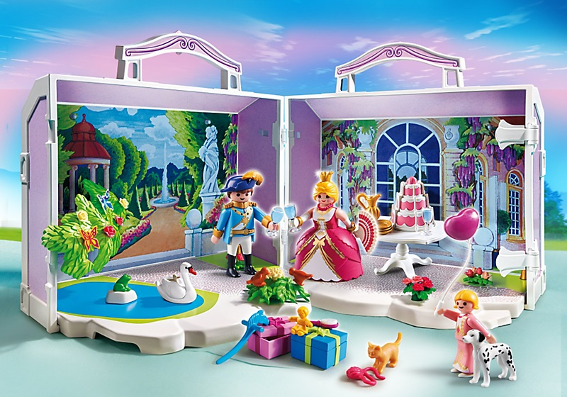 pavillon royal transportable 5359 coffre princesse playmobil. Black Bedroom Furniture Sets. Home Design Ideas
