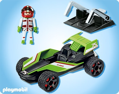 playmobil sports et action playmobil 5174 bolide playmobil collectionner. Black Bedroom Furniture Sets. Home Design Ideas