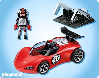 playmobil sports et action playmobil 5175 voiture de course playmobil. Black Bedroom Furniture Sets. Home Design Ideas