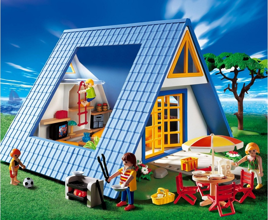 Playmobil family vacations and vacations on pinterest - Maison de vacances playmobil ...