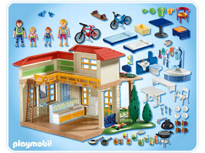 Playmobil r f rence 4857 maison for Photos maison playmobil