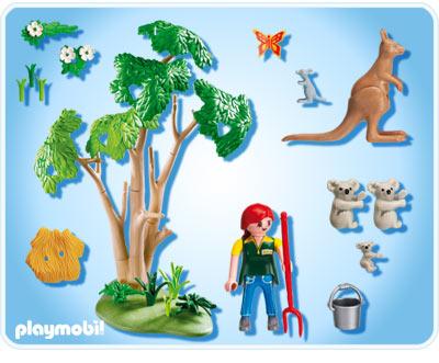 6654 famille de koalas de playmobil. Black Bedroom Furniture Sets. Home Design Ideas